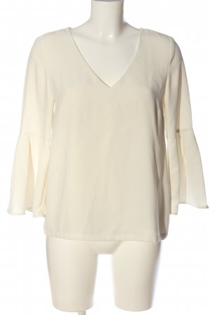 H&M Langarm-Bluse creme Business-Look