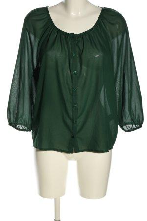 H&M Langarm-Bluse braun Casual-Look
