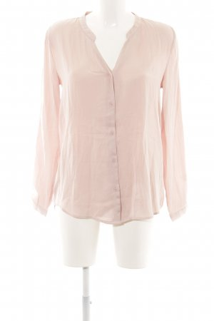 H&M Langarm-Bluse nude Casual-Look