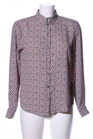 H&M Langarm-Bluse abstraktes Muster Business-Look