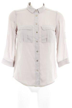 H&M Langarm-Bluse beige Casual-Look