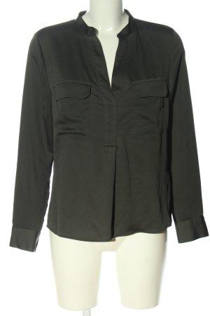 H&M Langarm-Bluse khaki Casual-Look