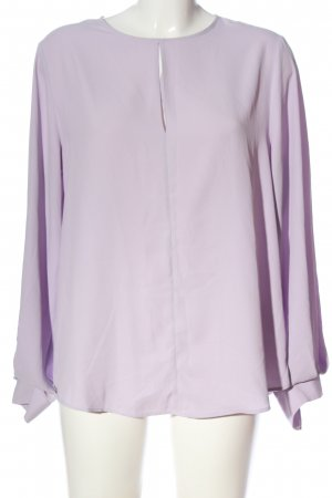 H&M Langarm-Bluse lila Business-Look