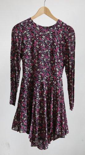 H&M Langarm Kleid - floral