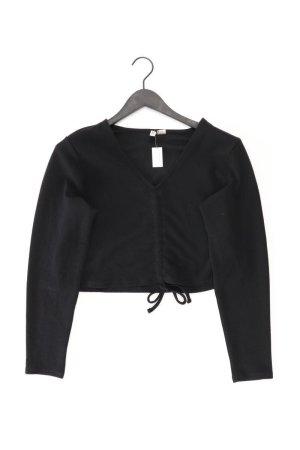 H&M Langarmbluse Größe XL schwarz aus Polyester
