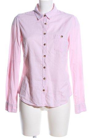 H&M Langarmhemd pink Business-Look