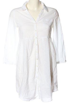 H&M Camicia a maniche lunghe bianco stile casual