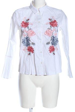 H&M Langarmhemd Blumenmuster Elegant