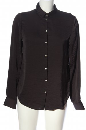 H&M Langarmhemd braun Business-Look