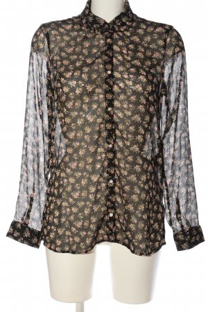 H&M Langarmhemd Allover-Druck Casual-Look