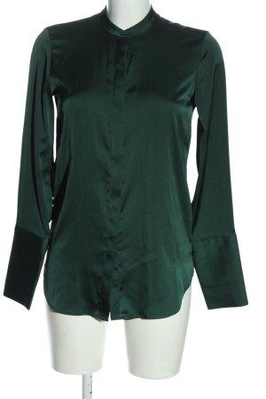 H&M Langarmhemd grün Elegant