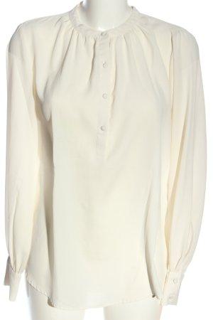 H&M Langarmhemd creme Casual-Look