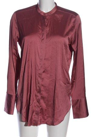 H&M Koszula z długim rękawem czerwony W stylu biznesowym