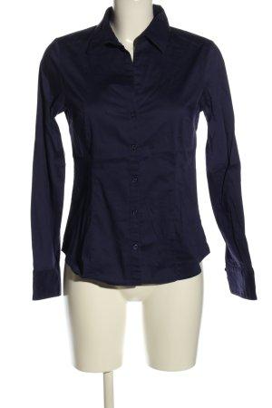 H&M Langarmhemd lila Business-Look