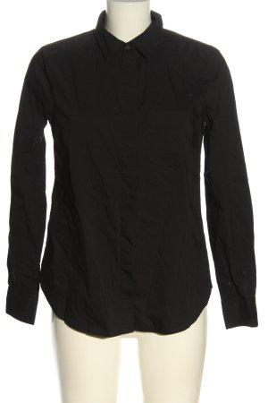 H&M Camicia a maniche lunghe nero stile professionale