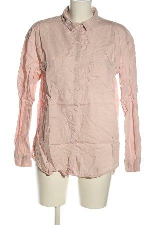 H&M Langarmhemd pink Casual-Look