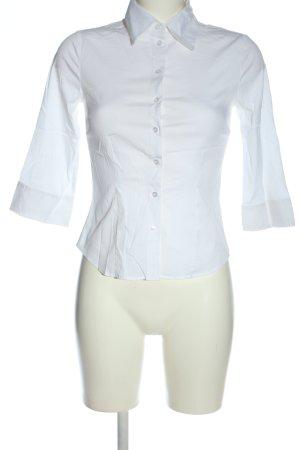 H&M Koszula z długim rękawem biały W stylu biznesowym