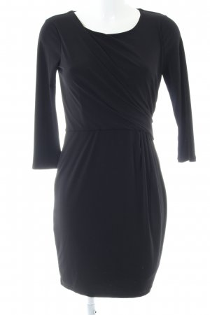 H&M Langarmkleid schwarz Business-Look