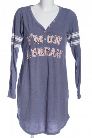 H&M House-Frock printed lettering casual look