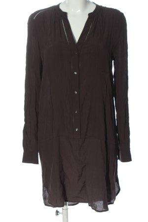 H&M Abito a maniche lunghe marrone stile casual