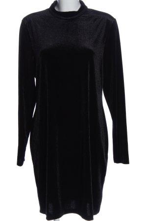 H&M Abito a maniche lunghe nero stile casual
