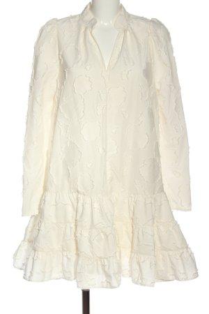 H&M Langarmkleid creme Casual-Look