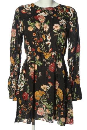 H&M Longsleeve Dress allover print casual look