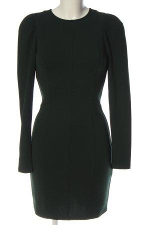 H&M Langarmkleid khaki Business-Look