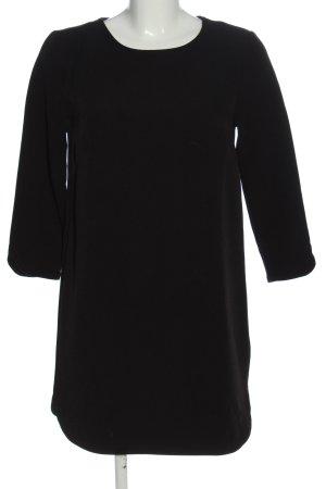 H&M Langarmkleid schwarz Casual-Look