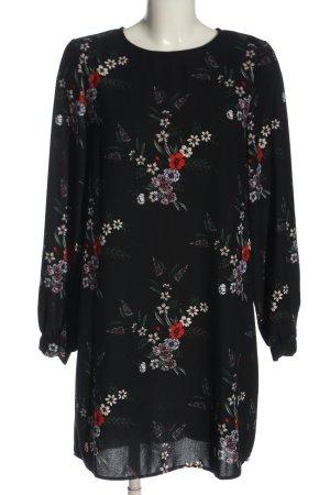 H&M Langarmkleid Blumenmuster Elegant