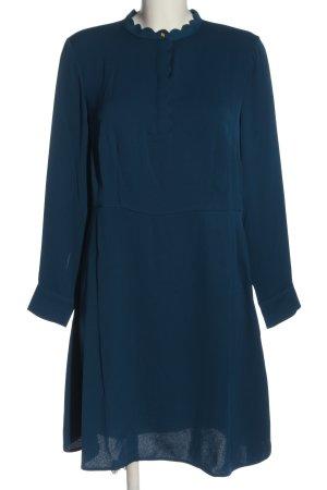 H&M Langarmkleid blau Casual-Look