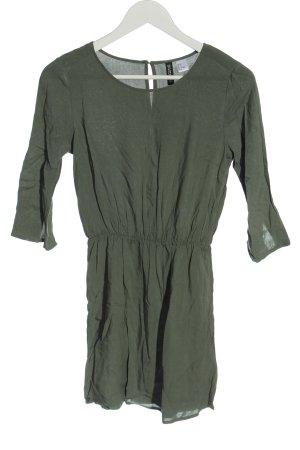 H&M Langarmkleid khaki Casual-Look