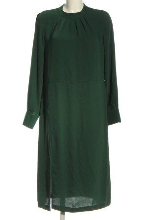 H&M Vestido de manga larga verde elegante