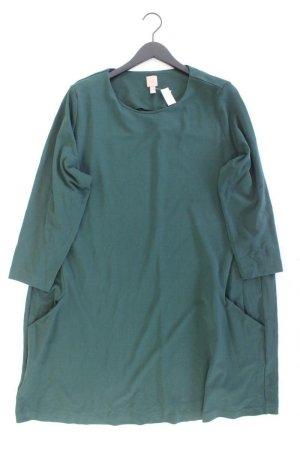 H&M Langarmkleid Größe XXL grün aus Viskose