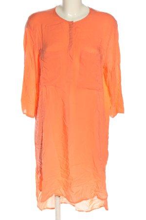 H&M Abito a maniche lunghe arancione chiaro stile casual