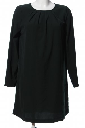 H&M Langarmkleid dunkelgrün Business-Look