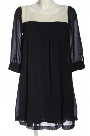 H&M Abito a maniche lunghe bianco-nero stile professionale