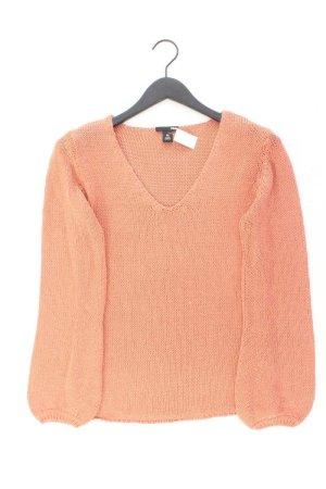 H&M Langarmpullover Größe M orange aus Acryl