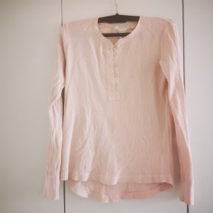 H&M Langarmshirt aus Waffle Strick Gr.XS rosa