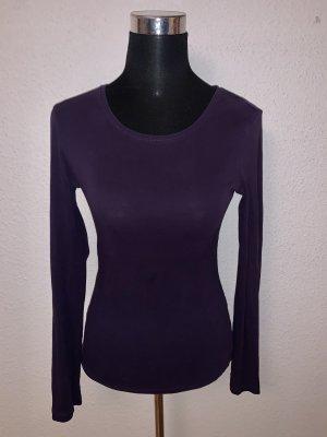 H&M Langarmshirt Basic Longsleeve Shirt lila