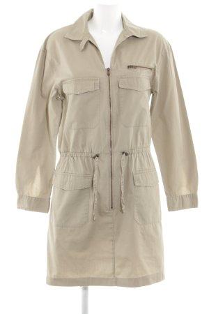 H&M Lange Jacke creme Casual-Look