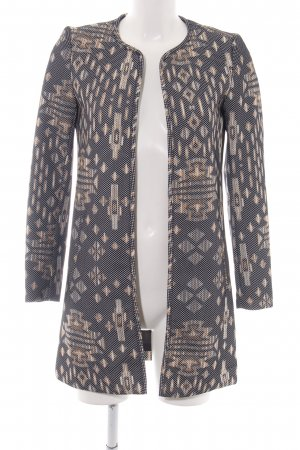 H&M Lange Jacke abstraktes Muster Business-Look