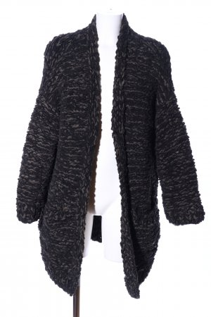 H&M Lange Jacke schwarz Casual-Look
