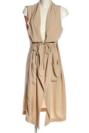 H&M Marynarka koszulowa kremowy W stylu casual