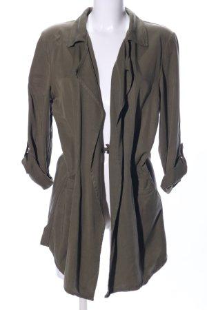 H&M Lange Jacke khaki Casual-Look