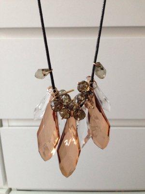 H&M Necklace black-bronze-colored