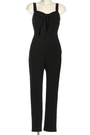 H&M Langer Jumpsuit schwarz Elegant