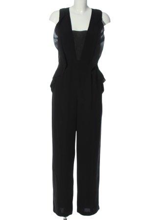 H&M Langer Jumpsuit black elegant