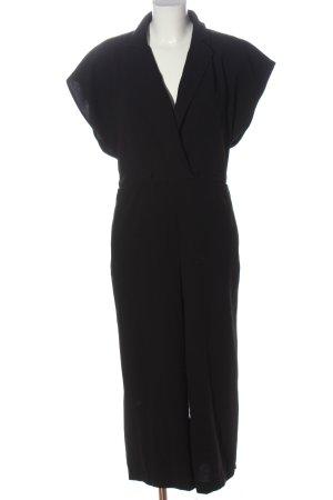 H&M Langer Jumpsuit negro look casual