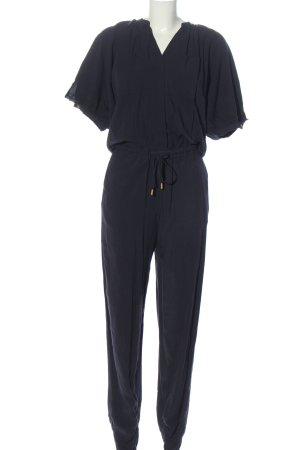 H&M Langer Jumpsuit blau Casual-Look